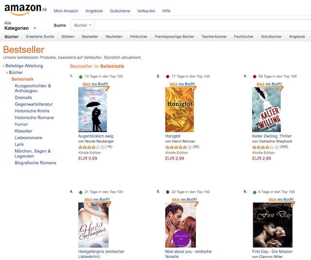 Platz 1, Amazon Bestseller, Nicole Neuberger