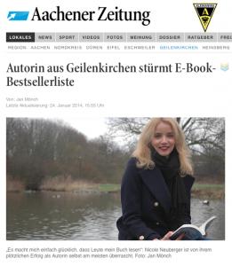 Bericht Aachener Zeitung Screenshot
