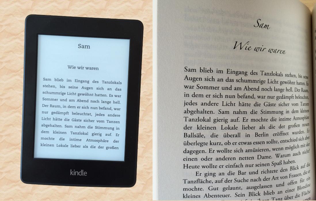 Blick ins Buch ebook Taschenbuch ©Nicole Neuberger