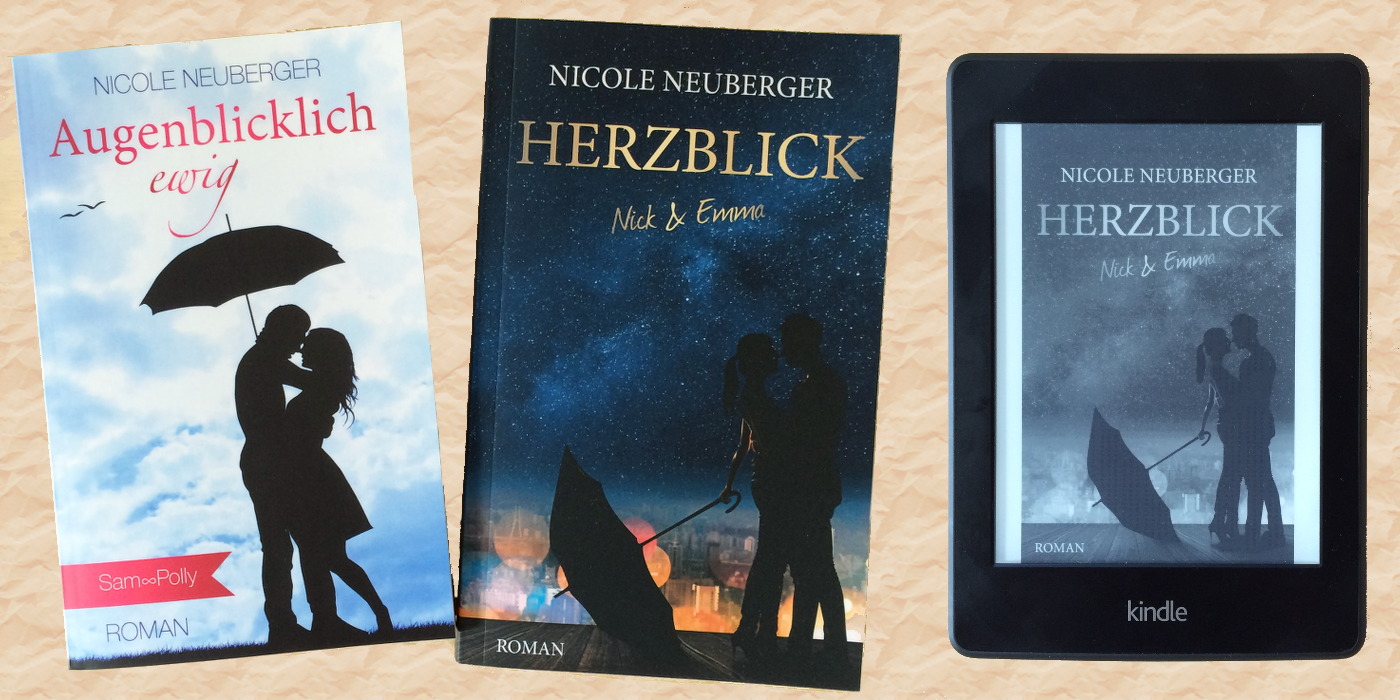 eBook versus Taschenbuch ©Nicole Neuberger