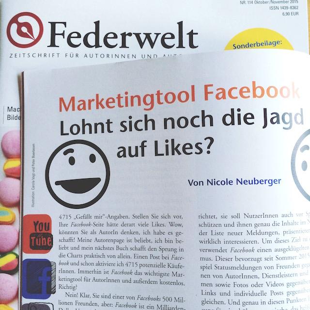 Federwelt: Marketing Tool Facebook ©Nicole Neuberger