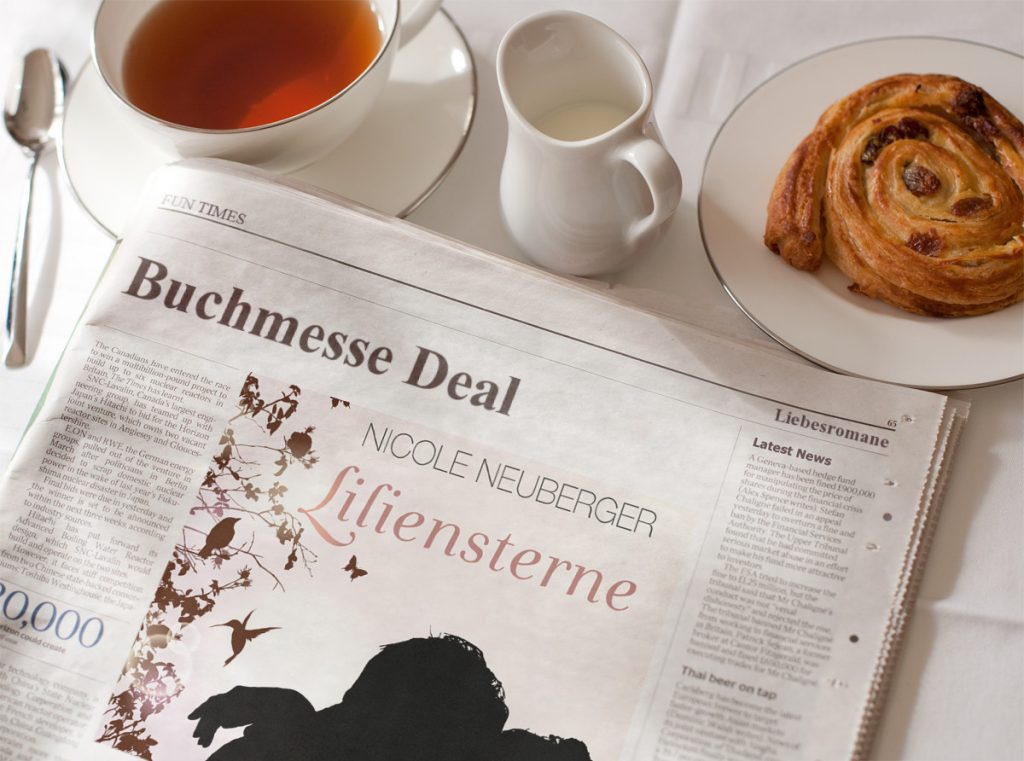 Buchmesse Deal Liliensterne ©Nicole Neuberger via PhotoFunia