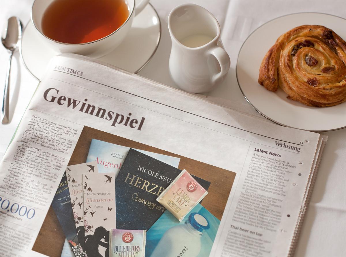 Newsletter Gewinnspiel ©Nicole Neuberger via Photofunia