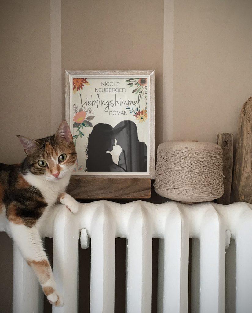 Lieblingshimmel Kitty ©Nicole Neuberger via Photofunia