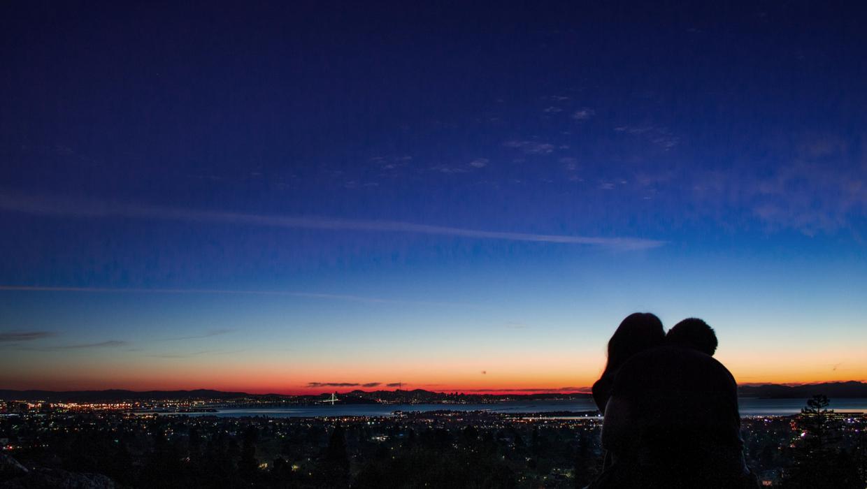 Paar, Liebe, Großstadt