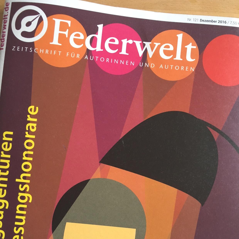 Federwelt Heft 121 ©Nicole Neuberger