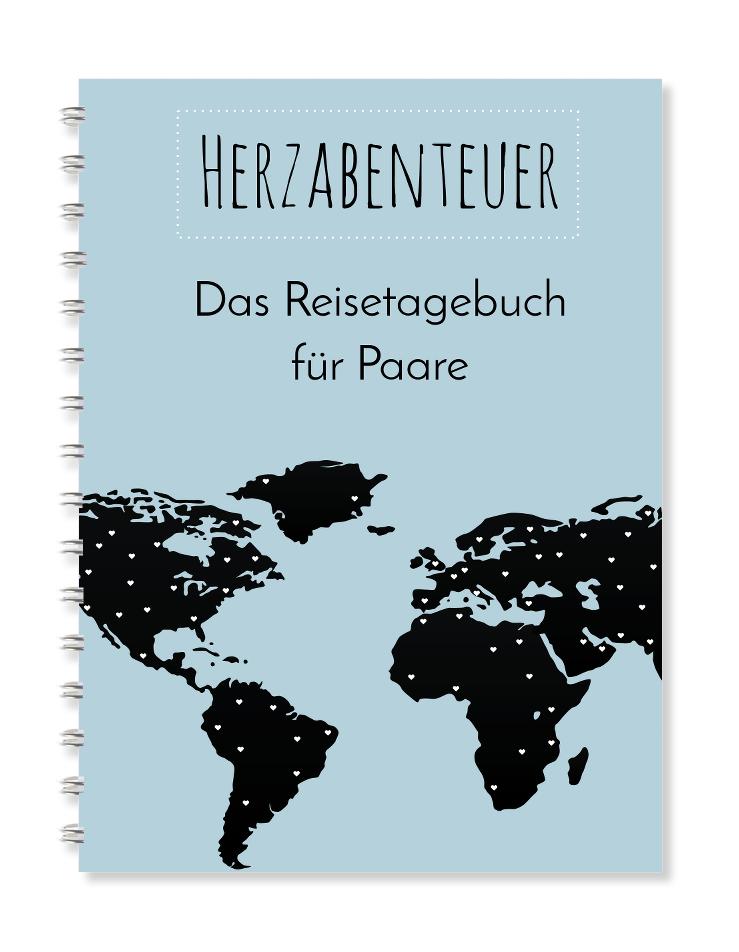 Reisetagebuch, Paare, verliebte, Journal