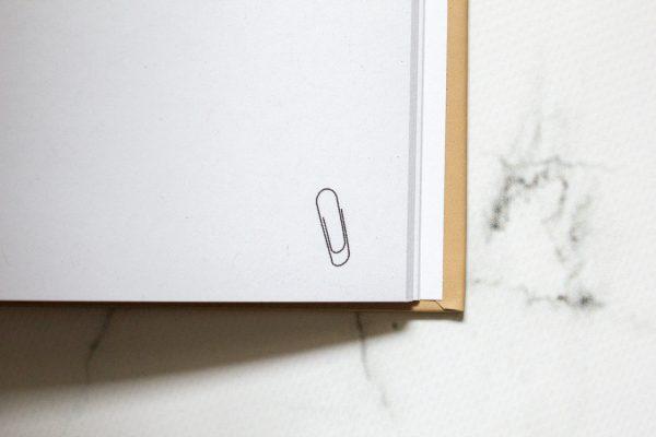 Papierqualität Reisetagebuch
