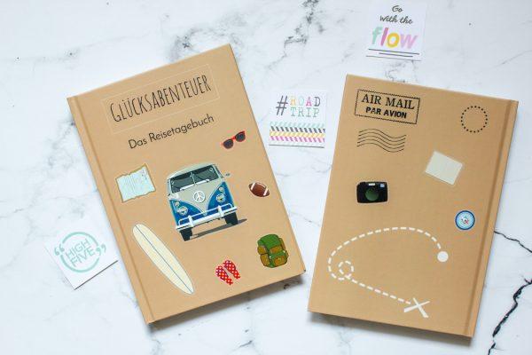 Reisetagebuch, Beige Zelten, Van, Karte, Abenteuer