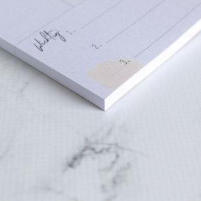 Wocheplaner, Abreißblock, DIN A5, Papier