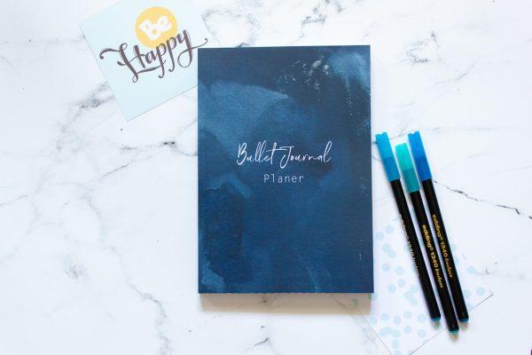 Bullet Journal Planer, Bujo, Bullet Journal, Terminplaner