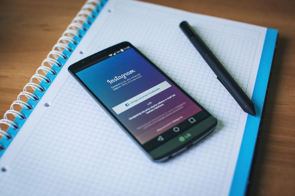Instagram für Autoren, Social Media Kalender, Instagram Planer