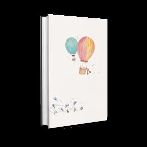 Reisetagebuch Flitterwochen, Honeymoon, Paar, Geschenk