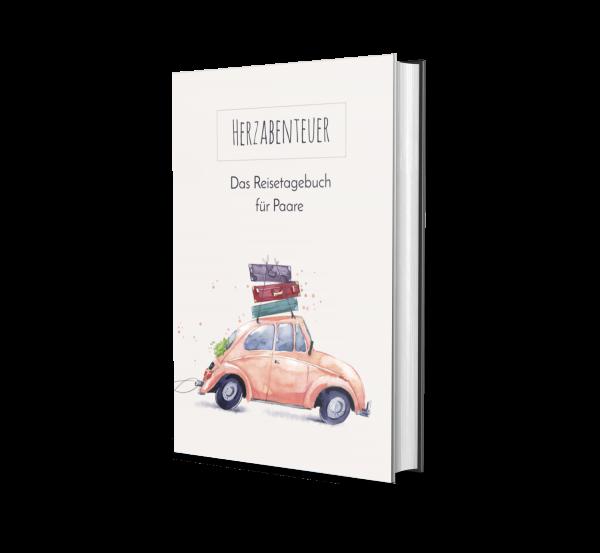 Reisetagebuch für Paar, Flitterwochen, Honeymoon, Geschenk